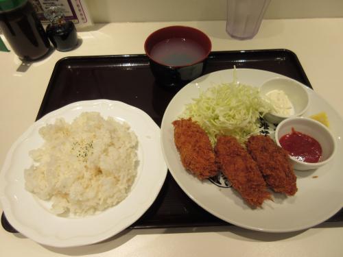 広島県産大粒カキフライ ¥780