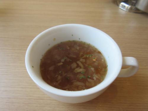 エシャロットのスープ