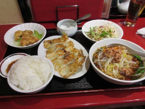 サービス定食 北京餃子