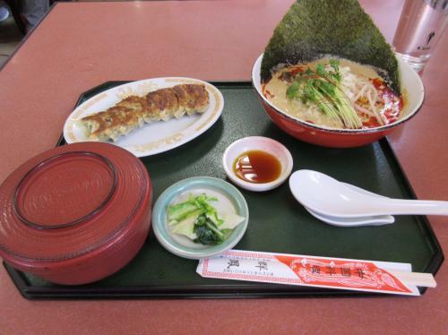 ラーメンセット(白ゴマタンタン麺に変更)