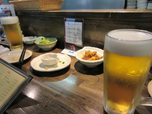 ビールお代り