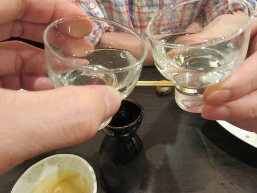 日本酒いっちゃいます!