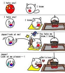 日本と韓国の関係