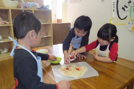 ピザ作り1月2