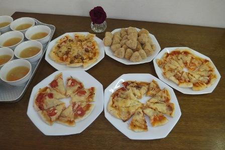 ピザ作り1月4
