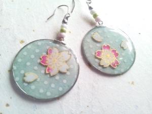 桜 和小物 桜ネイルチップ 和風アクセサリー 和風iPhoneカバー 和風スマホカバー 春物 桜柄 花びら 桜アイテム