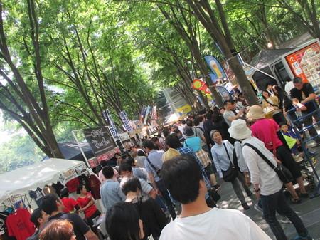 けやきひろば春のビール祭り2015。