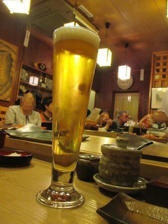 生ビール。