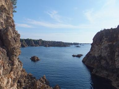 佐渡・尖閣湾の眺望