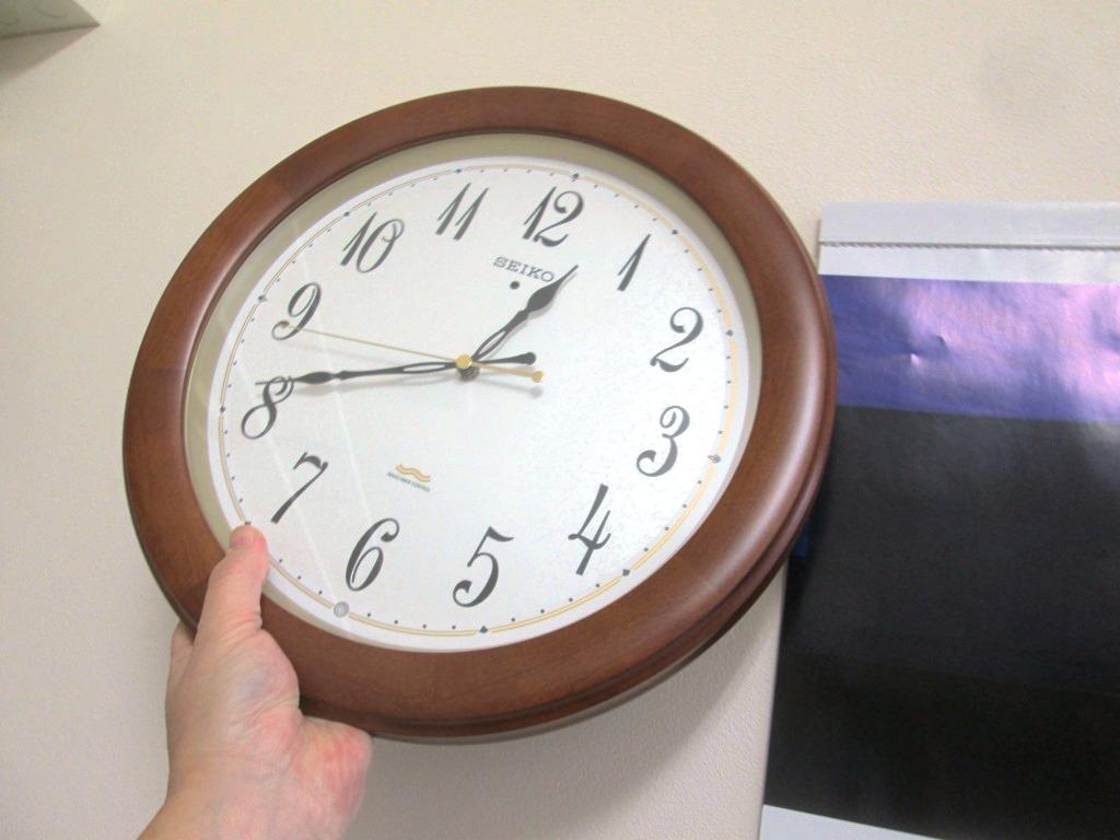 時計 ない 電波 合わ