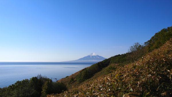 登山道から利尻富士P5278349