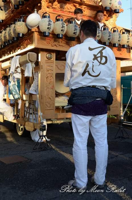 西新町だんじり(屋台) 祭り装束 西条祭り