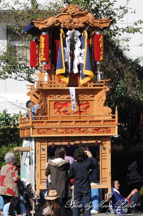山道だんじり(山道屋台) 西条祭り 玉津