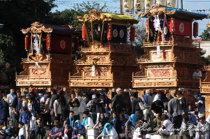楠だんじり(楠屋台) 西条祭り 玉津