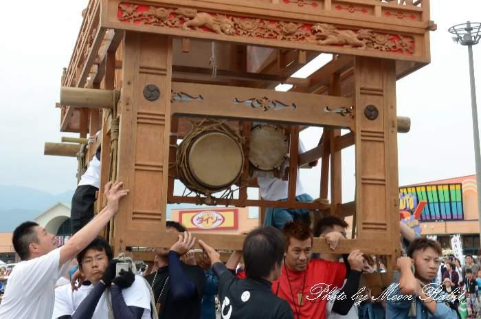 親善会だんじり(親善会屋台) 祭り太鼓 東予祭り