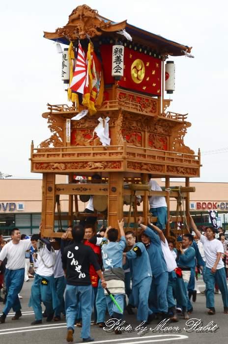 パルティ・フジ東予店駐車場かきくらべ 親善会屋台(親善会だんじり) 東予祭り