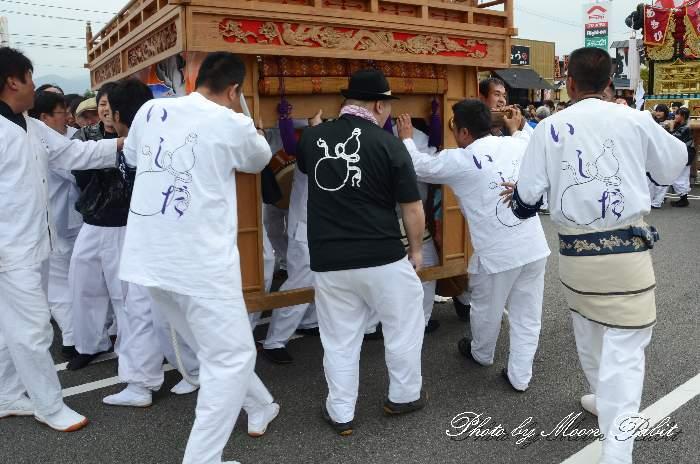 石田屋台(石田だんじり) 祭り装束 東予祭り