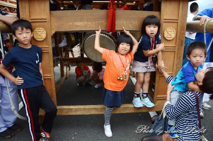 廣江だんじり(広江屋台) 祭り装束