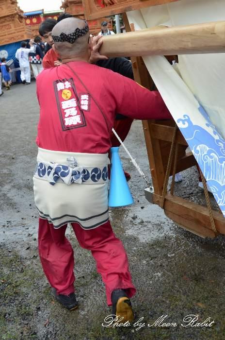 西之原だんじり(西乃原屋台) 祭り装束 石岡神社祭礼