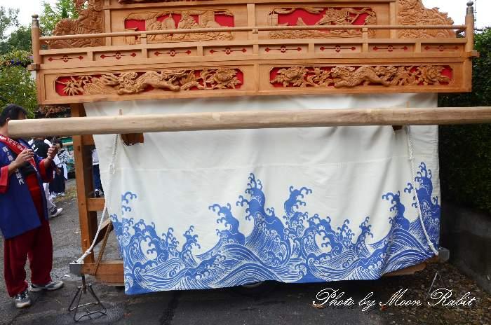 西ノ原だんじり(西之原屋台) 土台幕