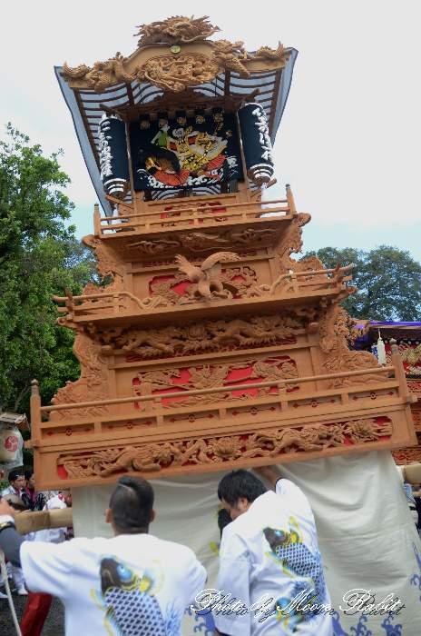 石岡神社祭礼 西の原だんじり(西之原屋台) 本殿祭