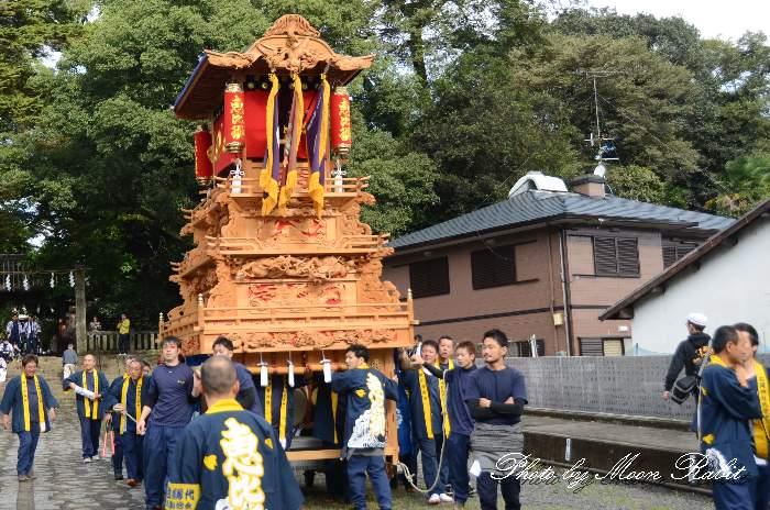 石岡神社祭礼 恵比須だんじり(蛭子屋台) 本殿祭