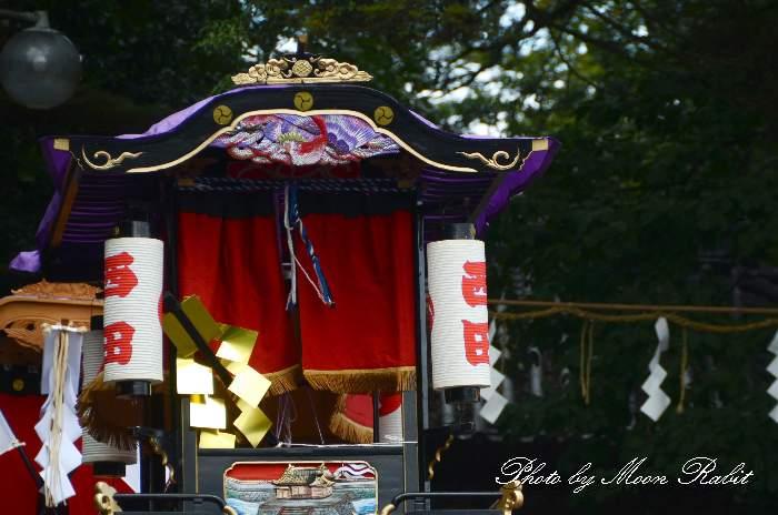 隅提灯 西田屋台(だんじり) 西条祭り 石岡神社祭礼