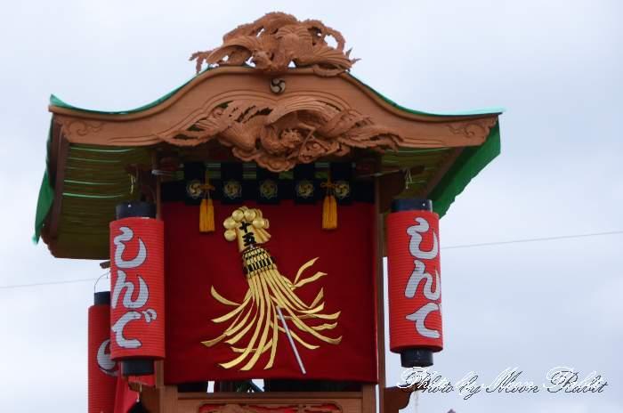 隅提灯 新出屋台(新出だんじり) 西条祭り 石岡神社祭礼