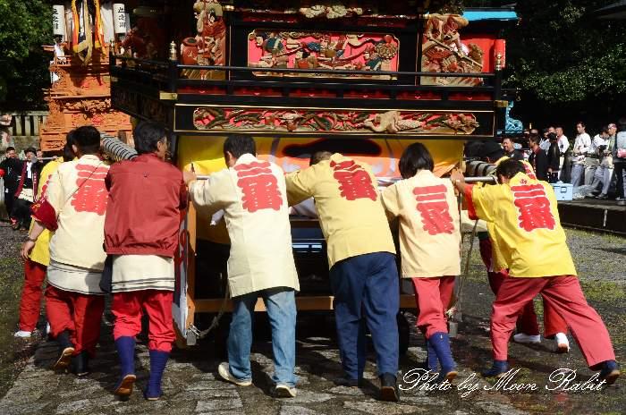 裏組屋台(裏組だんじり) 祭り装束 西条祭り 石岡神社祭礼 愛媛県西条市