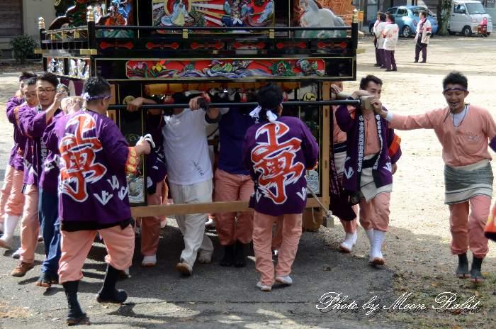 上町屋台(上町だんじり) 法被 祭り装束 石岡神社祭礼