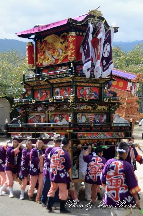 石岡神社祭礼 上町だんじり(上町屋台) 本殿祭