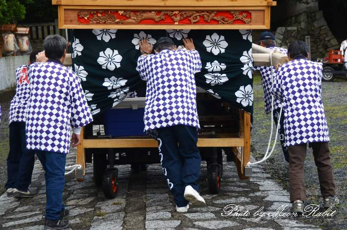 古町だんじり(古町屋台) 法被 祭り装束 石岡神社祭礼