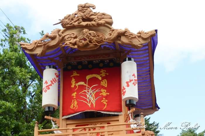 隅提灯 土居屋台(土居だんじり) 西条祭り 石岡神社祭礼