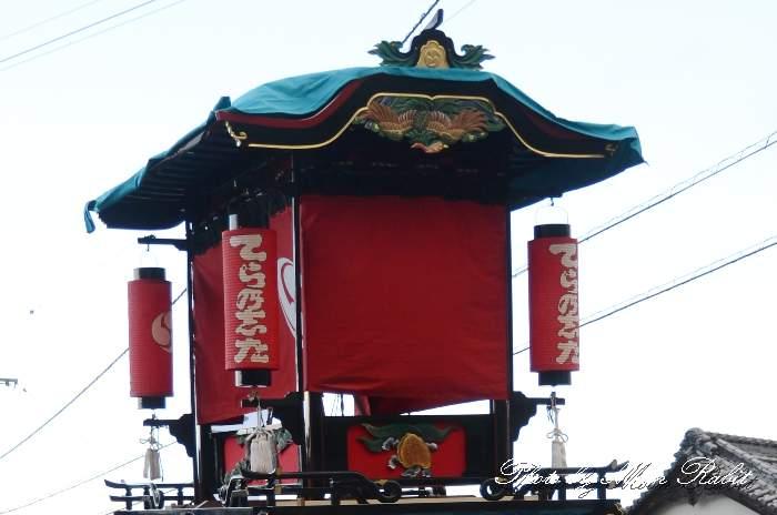 隅提灯 寺之下屋台(寺の下だんじり) 西条祭り 石岡神社祭礼