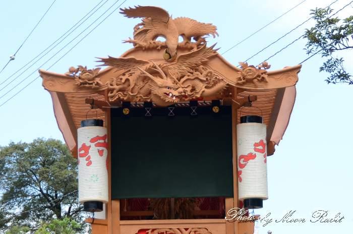 隅提灯 坂元屋台(坂元だんじり) 西条祭り 石岡神社祭礼