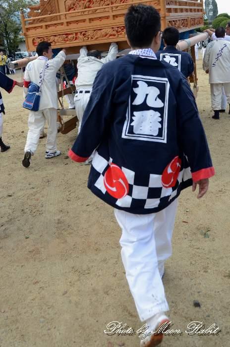 上の浦だんじり(上之浦屋台) 祭り装束 石岡神社祭礼