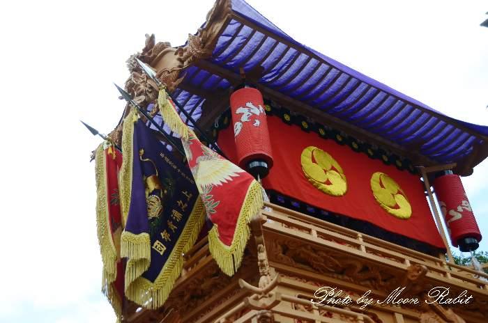 隅提灯 上之浦屋台(上の浦だんじり) 西条祭り 石岡神社祭礼