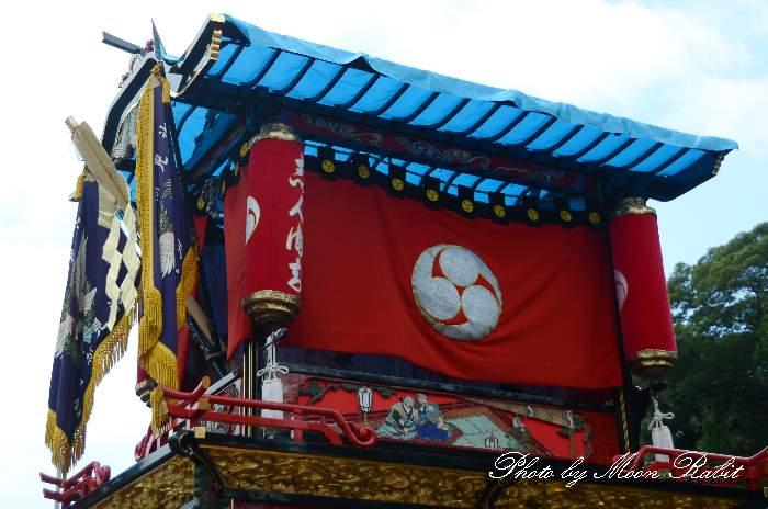 隅提灯 新町屋台(新町だんじり) 西条祭り 石岡神社祭礼