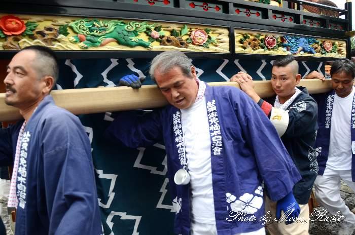 楢の木だんじり(楢之木屋台) 法被 祭り装束 石岡神社祭礼