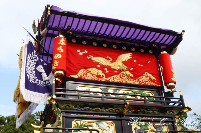 隅提灯 楢の木屋台(楢之木だんじり) 西条祭り 石岡神社祭礼