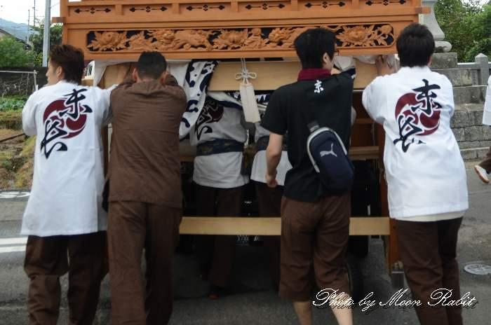 末長屋台(末長だんじり) 祭り装束 石岡神社祭礼