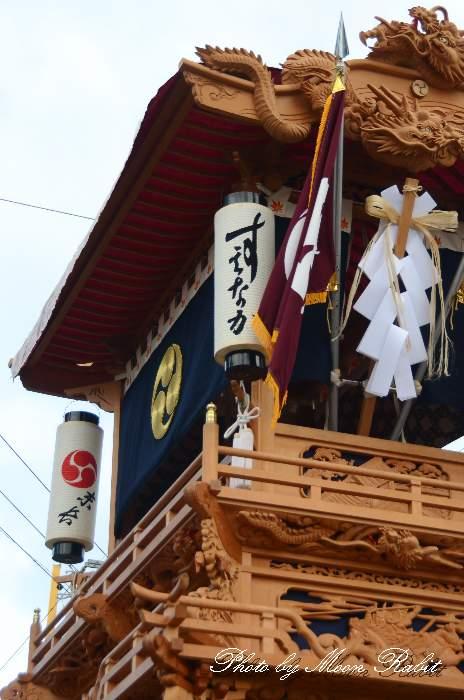 隅提灯 末長屋台(末長だんじり) 西条祭り 石岡神社祭礼