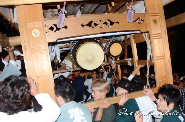 祭り太鼓 榮町中組屋台(栄町中組だんじり) 西条祭り 伊曽乃神社祭礼 愛媛県西条市