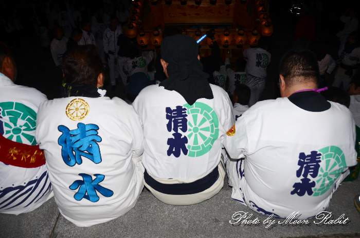 祭り装束 西条祭り 清水町屋台(だんじり) 伊曽乃神社祭礼