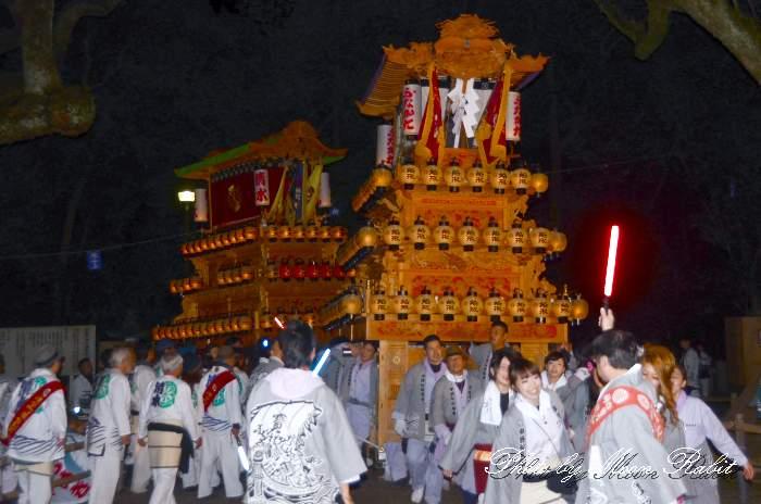 祭り提灯 船形屋台(船形だんじり) 西条祭り 伊曽乃神社祭礼 愛媛県西条市