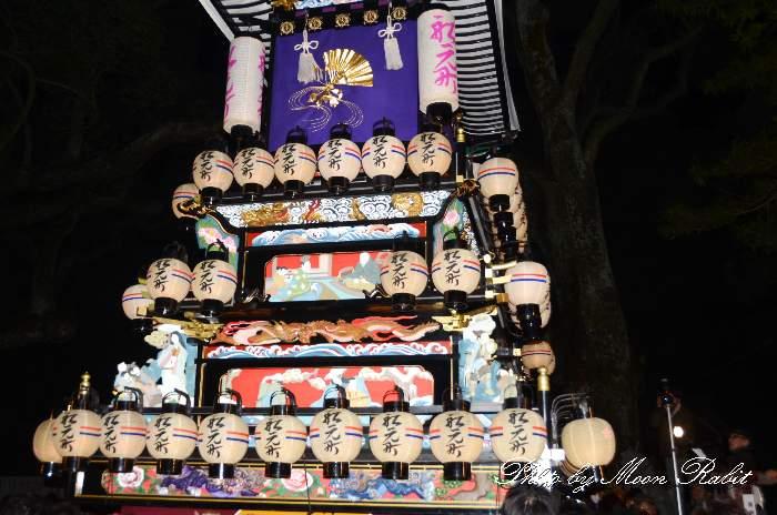 祭り提灯 船元町屋台(船元町だんじり) 西条祭り 伊曽乃神社祭礼 愛媛県西条市