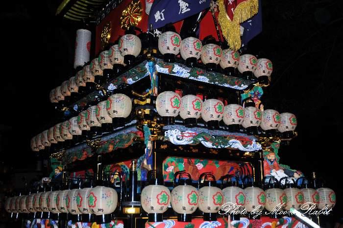 祭り提灯 魚屋町屋台(魚屋町だんじり) 西条祭り 伊曽乃神社祭礼 愛媛県西条市