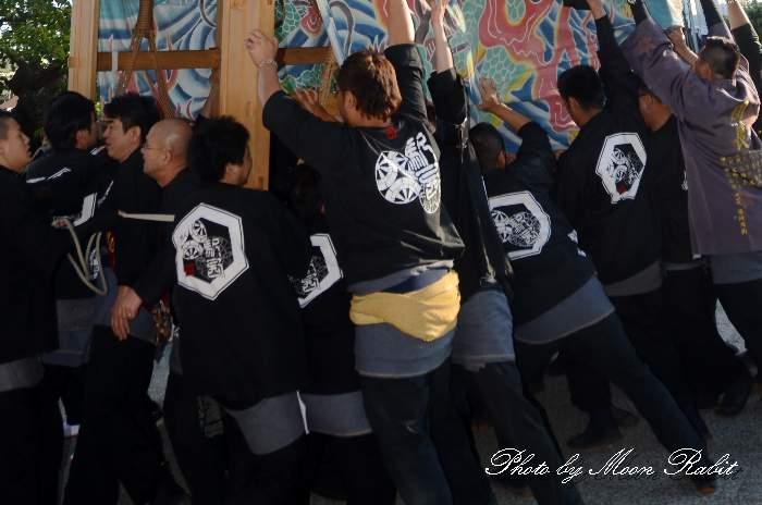 駅西屋台(駅西大通りだんじり) 祭り装束 西条祭り
