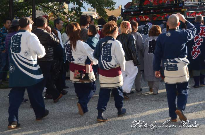 朝日町だんじり(屋台) 法被 祭り装束 西条祭り2013 伊曽乃神社