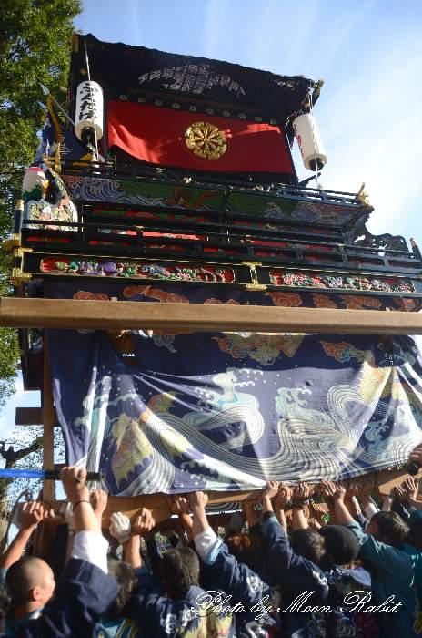 錦町だんじり(錦町屋台) ご殿前 西条祭り